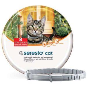 Collar seresto antiparasitario para gatos