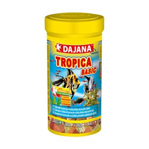 Tropical Basic de 100 ml, la comida para peces tropcales que contiene este acuario kit completo